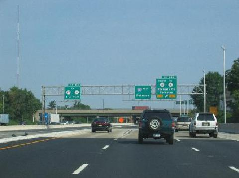 Interstate New Jersey - Us route 80 map
